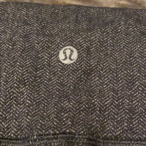 Lululemon Full Length, Dark Grey, Wide Waist Pant